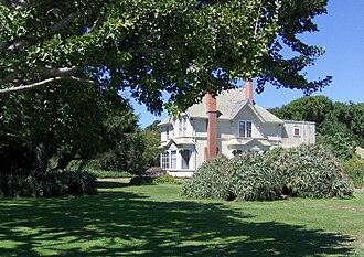 Wilder Ranch State Park - Restored Wilder Ranch house