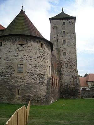 Švihov Castle - Image: Hrad Švihov 1