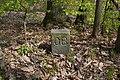 Hranicni kamen Bilovice nad Svitavou-Utechov c. 26 nachazejici se mimo vlastni hranici vedle vychodniho okraje silnice ze Sobesic do Utechova.jpg