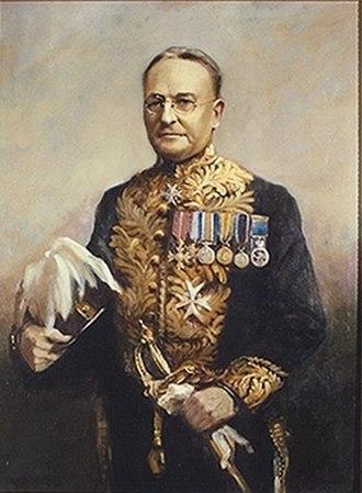Hugh Edwin Munroe - Hugh Edwin Munroe during his time as Lieutenant Governor of Saskatchewan.