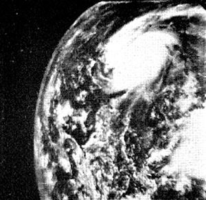 1961 Atlantic hurricane season - Image: Hurricane Anna 1961