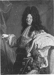 Bildnis des Louis XIV., König von Frankreich (Kopie nach)