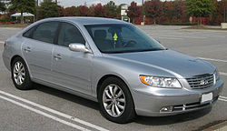 Hyundai Azera Limited (AS) 2006-2008