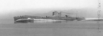 Type B submarine - I-15 on 15 September 1940