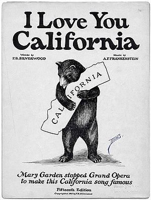 I Love You, California - Image: I Love You Calif