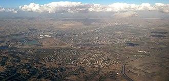 Livermore, California - Livermore, California looking northeast