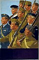 INF3-319 Unity of Strength Free European servicemen marching Artist Little.jpg