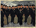 INF3-39 Sailors embarking for overseas Artist G Dugdale 1939-1946.jpg