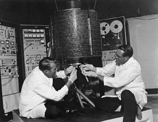 Intelsat I American commercial communications satellite launched in 1965