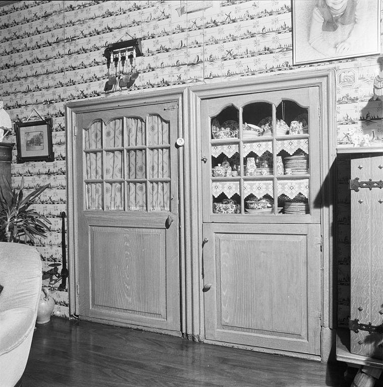 Woonkamer wandtegels : Interieur, woonkamer, schouw, wandtegels ...
