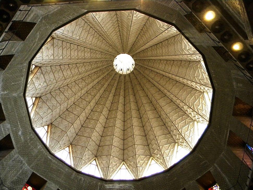 ISRAEL, Nazareth Catholic Church Annunciation (plaphon 9)