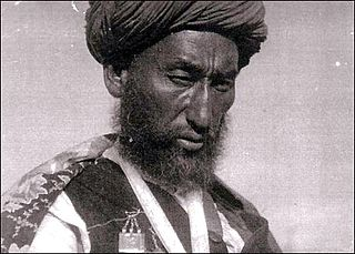 Uzbek warlord from first half of 20th century