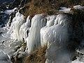 Ice flow alongside the Pyg Track - geograph.org.uk - 275081.jpg