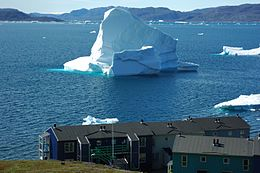 Iceberg and Houses Greenland.jpg