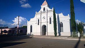 Nácori Chico - The local temple.