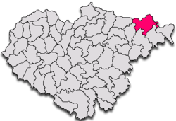 Commune Ileanda in Sălaj County