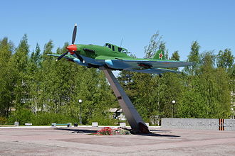 Lebyazhye, Lomonosovsky District, Leningrad Oblast - Ilyushin Il-2 in Lebyazhye