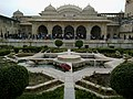 Inde Rajasthan Jaipur Fort Amber Sukh Mahal Vue Jai Mandir Jardin - panoramio.jpg