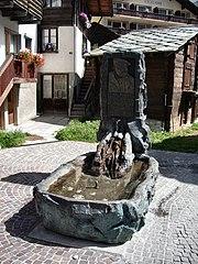 Inderbinenbrunnen Zermatt