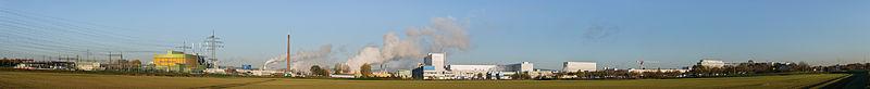 Industry park Höchst south side panorama - Industriepark Höchst Südseite - 02.jpg