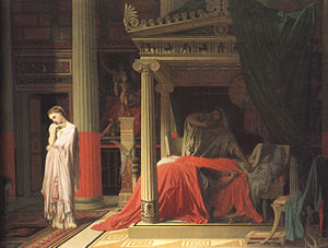 Louise de Broglie, Countess d'Haussonville - Ingres, Antiochus and Stratonice, 1840