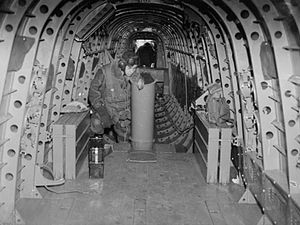 Avro Manchester - Interior view of a Manchester MK I