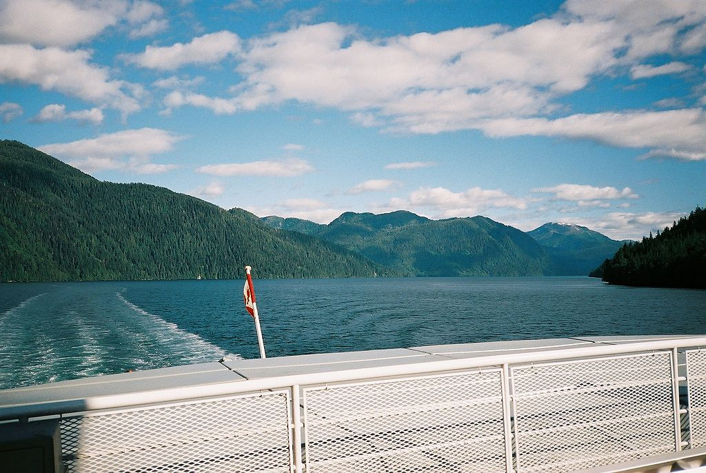 File inside passage aboard mv queen of prince rupert for British columbia fishing license