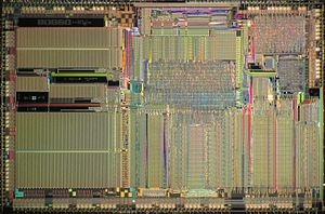 Intel i860 - Die of Intel i860 XR.