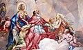 Intercession of Charles Borromeo supported by the Virgin Mary - Detail Rottmayr Fresco - Karlskirche - Vienna.JPG