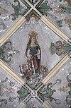 interieur, gewelfschildering, detail - hattem - 20353134 - rce