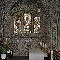 Interieur, overzicht betegelde kapel, zuidoost zijde, zuider zijschip. Betegeling door Max Weiss - Handel - 20347825 - RCE.jpg