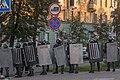 Internal troopers of Belarus with shields (Minsk, 20 September 2020) 01.jpg