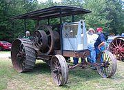 An International Harvester tractor built in 1920.