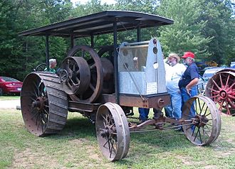 International Harvester - An International Harvester tractor built in 1920