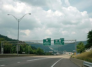 Interstate 470 (Ohio–West Virginia) - Image: Interstate 470