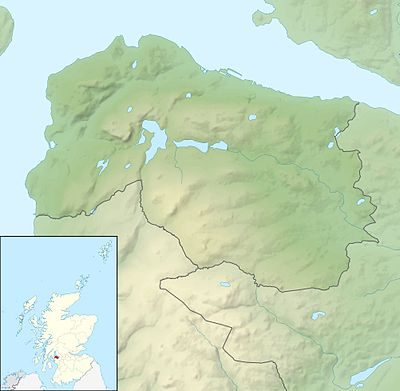 Location map Scotland Inverclyde