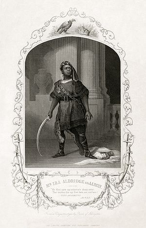 Ira Aldridge - Aldridge as Aaron in Titus Andronicus