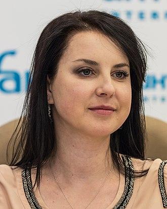 Irina Slutskaya - Slutskaya in 2016