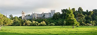 Northanger Abbey (2007 film) - Lismore Castle served as Northanger Abbey