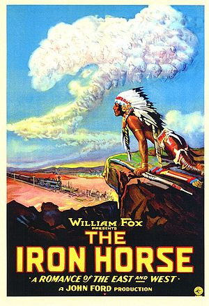 The Iron Horse (film) - Film poster