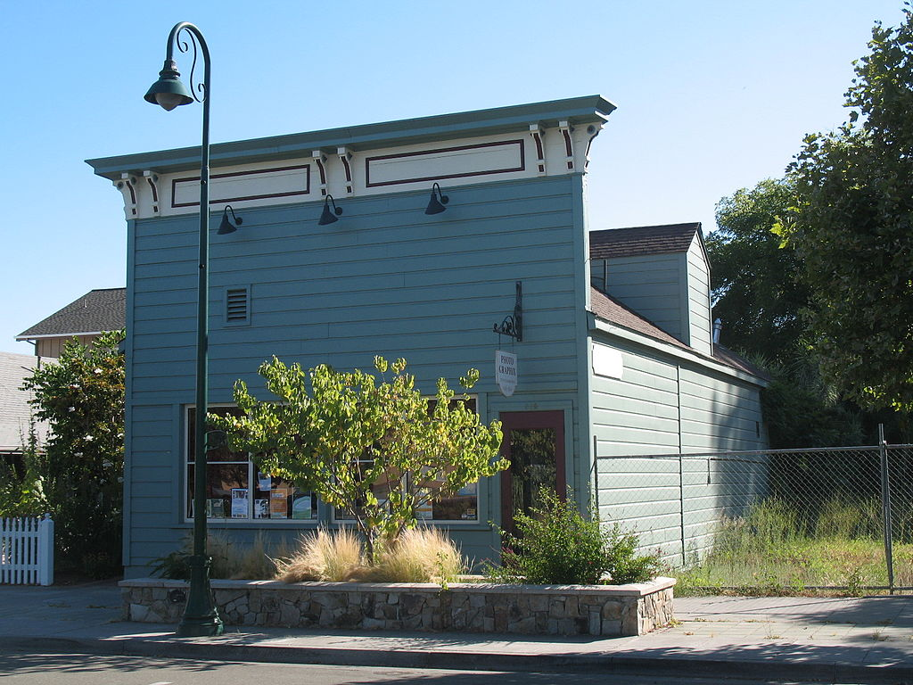 Cloverdale (CA) United States  city photos : Isaac E. Shaw Building, 219 N Cloverdale Blvd., Cloverdale, CA 7 ...