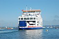 Isle of Wight ferry leaving Lymington for Yarmouth - geograph.org.uk - 1375838.jpg