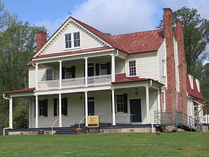 National Register of Historic Places listings in Isle of Wight County, Virginia - Image: Isleof Wight Boykins Tavern obl