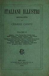 Cesare Cantù: Italiani illustri