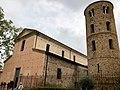 Italie, Ravenne, Santa Maria Magiore, VIe siècle, puis modifiée en 1671, clocher du IXe siècle (48087100847).jpg