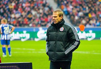 Jürgen Klinsmann - Klinsmann as manager of Bayern Munich in 2009