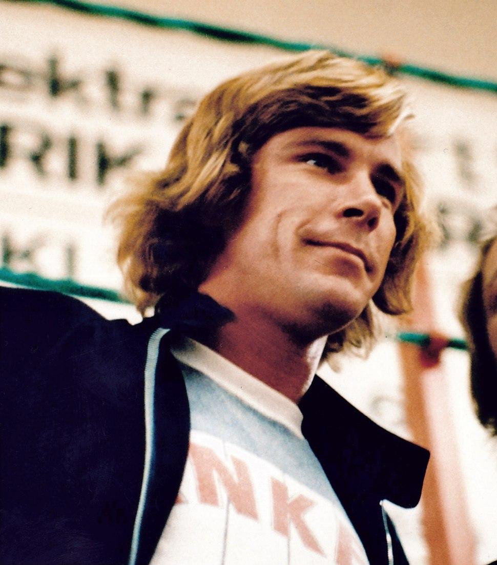 J. Hunt in 1977
