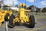 JASDF Motor Grader(Komatsu GD-505A, 44-1638) front view at Aibano Sub Base October 14, 2018.jpg