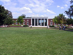 Homewood Campus of Johns Hopkins University - Milton S. Eisenhower Library