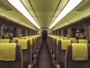 281 series - Image: JRW M281 inside
